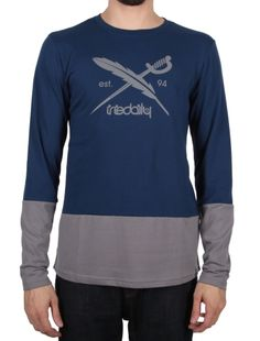 """Block Flag LS [navy blue] *** IRIEDAILY """"Fight for your Ride"""" - Early Fall 2015 Collection OUT NOW: http://www.iriedaily.de/blog/iriedaily-early-fall-2015-collection-out-now-2/"""