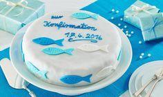 Konfirmations- oder Kommunionskuchen Rezept: Eine festliche Torte zur Konfirmation oder Kommunion mit Preiselbeeren und Schokolade und Mandeln - Eins von 7.000 leckeren, gelingsicheren Rezepten von Dr. Oetker!