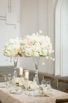 Sophisticated and Elegant Wedding Ideas Florals and Decor by FH Weddings & Events