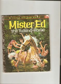 "Vintage Little Golden Book Mr. Ed the Talking Horse 1962 ""A"" ed. Hard to Find Book"