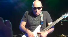 """Photo still of a video i shot of Satriani playing Jason Becker's """"Not dead yet"""" show in SF. March 2010"""
