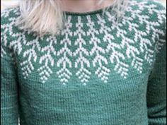 Круглая кокетка спицами. Лопапейса. Часть 1. Общий обзор. Расчеты. Double Knitting Patterns, Knitting Machine Patterns, Jumper Patterns, Knitting Designs, Knitting Stitches, Knit Patterns, Baby Knitting, Fair Isle Knitting, Knitting Videos