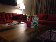 Dubai flat living room