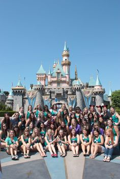 sigma kappa socal disneyland sisterhood event!
