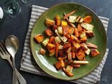 Doing a trial run on this for Thanksgiving. Roasted Winter Vegetables recipe from Ina Garten via Food Network Vegetable Recipes Easy Healthy, Spiral Vegetable Recipes, Grilled Vegetable Recipes, Healthy Vegetables, Vegetable Dishes, Vegetable Spiralizer, Vegetable Casserole, Spiralizer Recipes, Root Vegetables