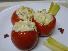 Tomate recheado é leve e saboroso. Aposte em receitas assim neste verão!  http://www.anaclaudianacozinha.com/2013/03/tomate-recheado.html  Gostou? Compa... - Ana Claudia Cozinha - Receitas - Google+