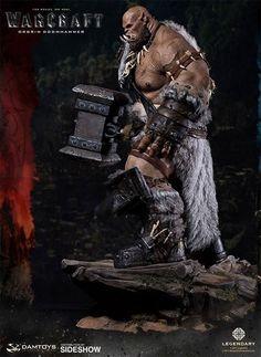 World Of Warcraft: Orgrim Premium Statue Fantasy Concept Art, Fantasy Art, World Of Warcraft Game, Sideshow Collectibles, God Of War, Figurative Art, Troll, Sculpting, Sculptures