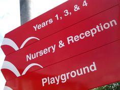 Victoria Primary School - Interior Refurbishment. Brand design, interior design, interior graphics & brand implementation