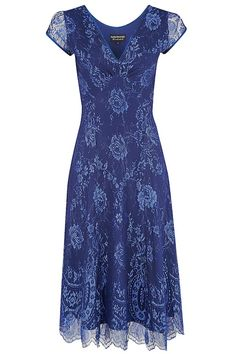 Kirsten lace in celestial blue by Pretty Eccentric, £179.00