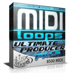 Hex Loops proudly presents MIDI Loops Ultimate Producer Pack, an awesome collection of over 8500 MIDI files ready for EDM, House, Trance, Electro. Native Instruments, Mega Pack, Trance, Packing, Studio, Digital, Bag Packaging, Trance Music, Studios