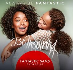 Take time for you so you can - Be Inspiring - Cuts, Color, Treatments & Styling #FantasticSams #CutAndColor #HolidayHair