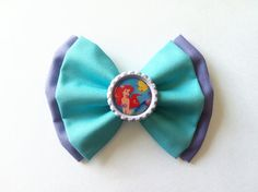 The Little Mermaid Ariel Disney Hair Bow @Cora Martin