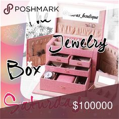 """SATURDAY JUNE 25 THE JEWELRY BOX SHARE GROUP  SIGN UP BELOW! @username SHARE 5 JEWELRY ITEMS FOR EACH POSHER SIGNED UP! Use """"JEWELRY"""" Filter! (If there aren't 5 jewelry items available keep sharing until you reach 5 total jewelry shares) SIGN UP CLOSES! 4:00pm EST SHARING TIMES! 9:00am to 12:00 midnight your time SIGN OUT! After group closing is posted Jewelry"""