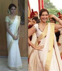 Asin goes traditional Mallu for Riteish Genelia wedding | PINKVILLA