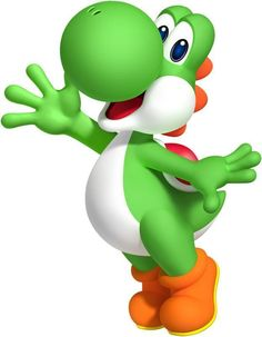 Happy Yoshi Super Mario Bros Decal Removable Wall Sticker Home Decor Art Kids