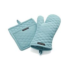 x1 set of pot holder and oven mitt for kitchen- sofia keep with aprons