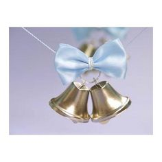 Silver Wedding Bells - 24/pk to salute the bride and groom - in place of rice, birdseed or bubbles.