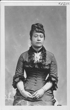 Princess MiriamKapili KekāuluohiLikelike (1851-1881).