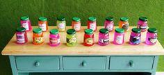 Miniaturas: Nuevos botes Mermelada!! Hot Sauce Bottles, Food, Marmalade, Canisters, Miniatures, Essen, Meals, Yemek, Eten