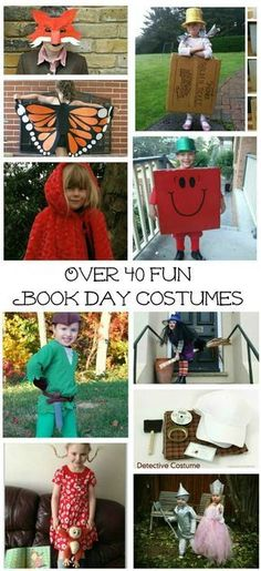 So many fab book inspired character costumes for World book day or book week Boys Book Character Costumes, Character Day Ideas, Children's Book Characters, Character Dress Up, Book Costumes, World Book Day Costumes, Book Week Costume, Storybook Characters, Costume Ideas
