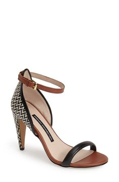 French Connection 'Nanette' Ankle Strap Sandal (Women) available at #Nordstrom