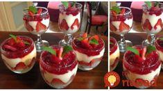 Najdokonalejšia ovocná pochúťka do pohárov: Krémové pokušenie s pudingom – zdravé a neskutočné chutné! Tiramisu, Pudding, Cheesecake, Food, Recipes, Vases, Desserts With Strawberries, Tasty Food Recipes, Food Cakes