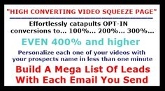 Email Lead Capture Video Squeeze Page Whiteboard With Full Motion Sketch Video Promoting Your Business   Click Here To Learn More