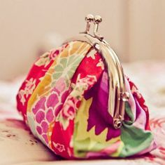 PERSONALISED FABRIC FORTUNE PURSE made by 2 Green Monkeys