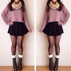 For more awesome outfits, please visit my blog --> (click twice on the image) and sign up for the newsletter, free products, giveaways! ♥ Fall Fashion, 2015, Outfits, For Work, New York, Preppy, Boho, For Teen Girls, Hipster, Women, Vintage, Ideas, For Moms, Classic, College, Cozy, For School, Trends, Teenage, Sexy, Chic, Comfy, Must Haves, Cheap