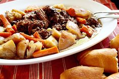 It's getting a bit chilly here and that makes this girl craving comfort foods. Foods I grew up with are my comfort foods and one of my favorite meals of all time is my Grandmother's pot roast. I remember sitting at her table with my brother and cousins and inhaling plate after plate. One bite …