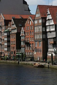 Warehouse District. Hamburg, Germany