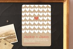 A Joyful Heart Save the Date Magnets by 603 Creative Studio at minted.com