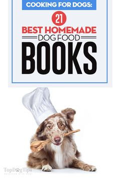 Homemade Dog Food 21 Best Homemade Dog Food Books - If you make your dog's food at home or you're thinking of switching to a homemade diet, try the recipes found in these best homemade dog food books. Diy Dog Treats, Homemade Dog Treats, Dog Treat Recipes, Dog Food Recipes, Best Dog Food, Best Homemade Dog Food, Training Your Dog, Training Tips, Dog Health Tips