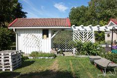 DIY garden trellises/privacy screens.   qandvictoria.wordpress.com Privacy Screens, Garden Trellis, All Pictures, Chevron, Pergola, Wordpress, Victoria, Outdoor Structures, Patio