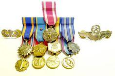 USAF Miniature medals and Badges set $25.00