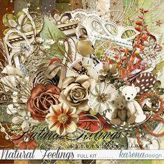Free Digital Scrapbooking, Scrapbook Pages, Rooster, Kit, Feelings, Gallery, Natural, Paper, Painting