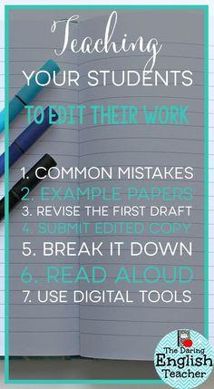 Seven ways to teach