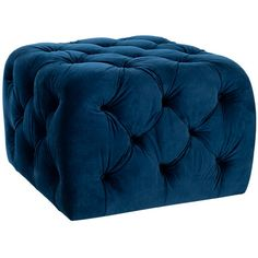 I pinned this Kenan Ottoman in Navy from the Colville Studios event at Joss and Main!