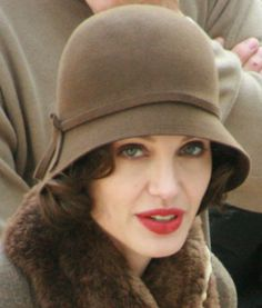 Angelina Jolie: The French Cloche Hat 1920s