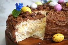 Delicious Deserts, Fika, Dessert Recipes, Desserts, Sweet Recipes, Nom Nom, Food And Drink, Easter, Sweets
