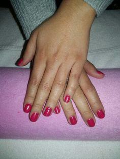 Manicura semipermanente #Nails #pink