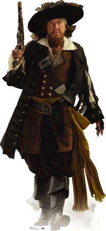 Captain Barbossa Cardboard Cutouts at AllPosters.com