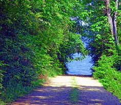 "Road To Paradise by Linda M Gardner digital art ~ 11"" x 14"""