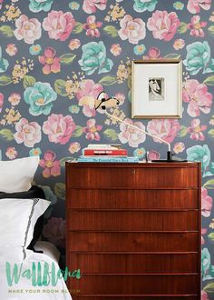 Hey, I found this really awesome Etsy listing at https://www.etsy.com/listing/241875501/rose-wallpaper-removable-wallpaper-rose