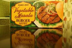 Trader Joes Masala Burger--Just had this tonight. I can not express how tasty these are! If you live near trader joes, you must go get some! Vegan, too.