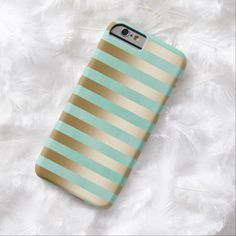 Modern Gold Stripes #iPhone 6 case #iphone6 #iphone6cases