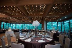 Check out the Hyatt Lodge in Oak Brook.  One of our most favorite venues in the Chicago area!