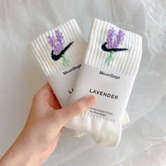 Embroidery On Clothes, Shirt Embroidery, Embroidered Clothes, Cute Lazy Outfits, Unique Outfits, Crabby Patties, Custom Socks, Nike Socks, Upcycled Crafts
