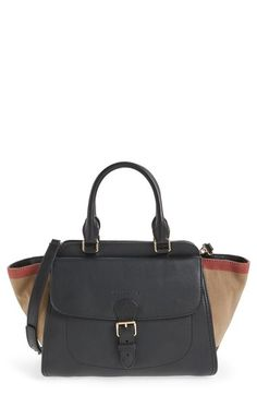 BURBERRY  Medium Harcourt  Leather Tote.  burberry  bags  canvas  tote   leather  lining  shoulder bags  hand bags  cotton   7f82e59ca29b5