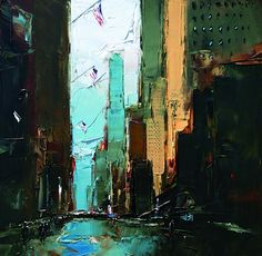Acrylic Paintings of New York by Daniel Castan 2